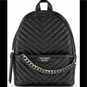 Victoria's Secret City Studded Backpack NWT